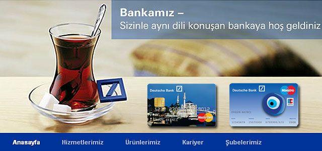 Wieso Banken türkisch sprechen