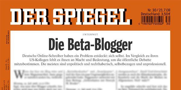 Beta-Blogger? Ja, denn sie lernen dazu.