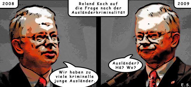 Roland Kochs neues Trikot