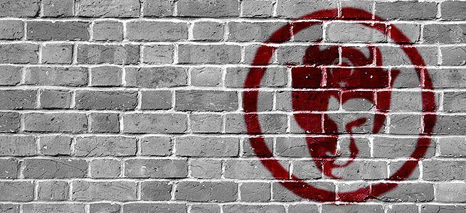 Der Teufel an der Wand hat einen türkischen Migrationshintergrund!