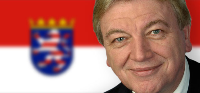 Hessischer Innenminister Volker Bouffier