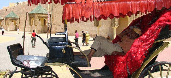 Wer sich so gehen lässt, muss aufpassen! Marokko - Foto: Flickr - http://flickr.com/photos/vass_istvan/214638875/