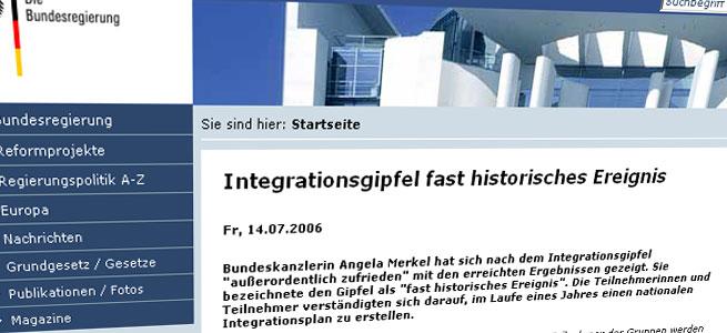 Der Integrationsgipfel