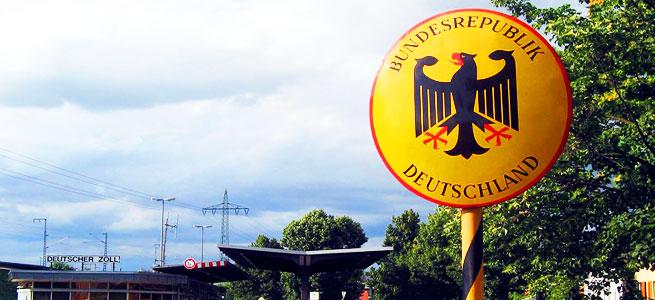 Grenze in Deutschland