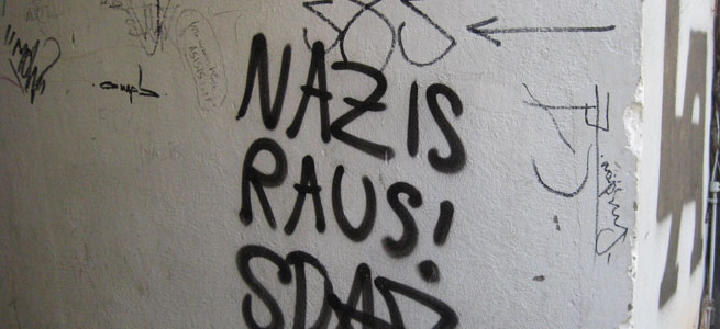 Nazis raus! - Bildmaterial: http://flickr.com/photos/unforth/2584280949/