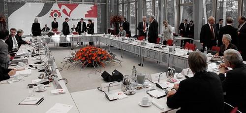 Koalitionsverhandlungen © www.bilder.cdu.de (bearb. MiGAZIN)